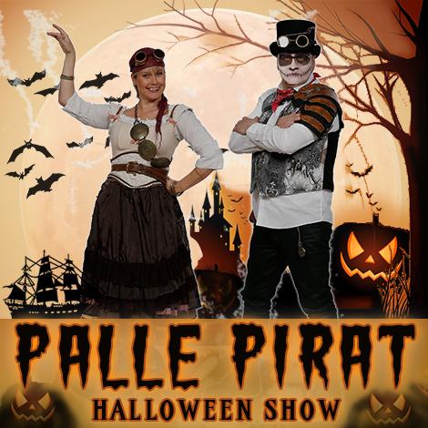Palle Pirat Halloweenshow